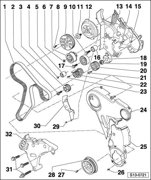 skoda timing belt replacement intervals