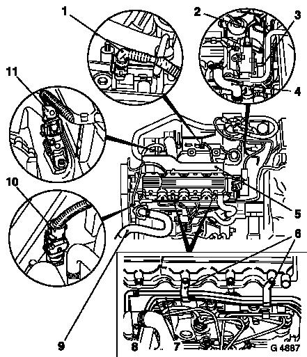 Opel Vacuum Diagram Wiring Schematic Diagram