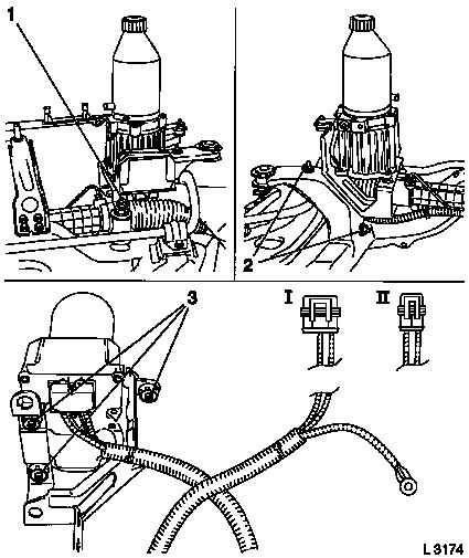 Vauxhall Workshop Manuals \u003e Astra G \u003e M Steering \u003e EHPS - Electrical