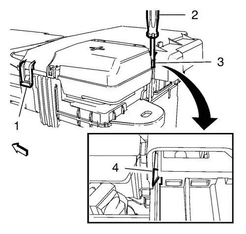 Vauxhall Workshop Manuals \u003e Astra J \u003e Engine \u003e Engine Electrical
