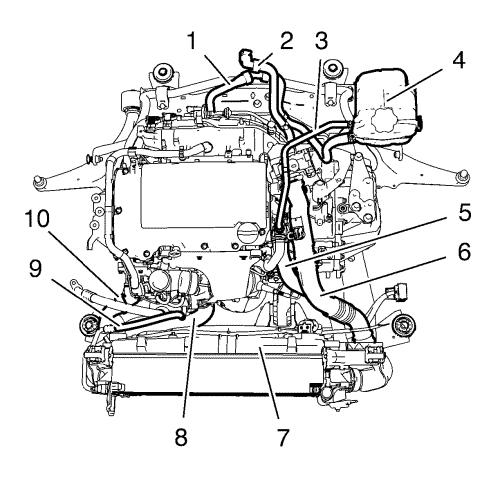 3 4l engine coolant diagram