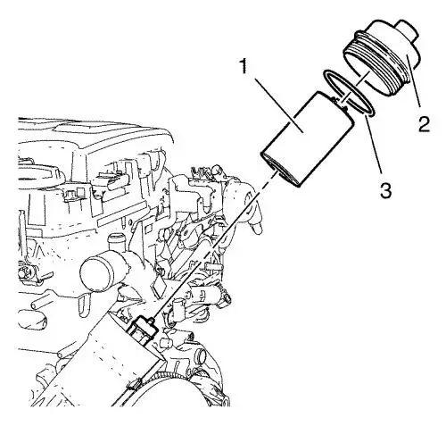 diesel fuel filter drain plug