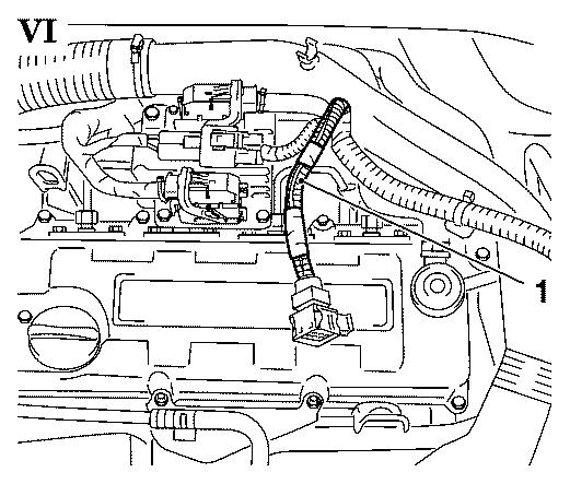 meriva engine diagram