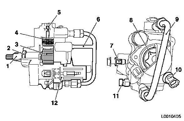 vauxhall fuel pressure diagram