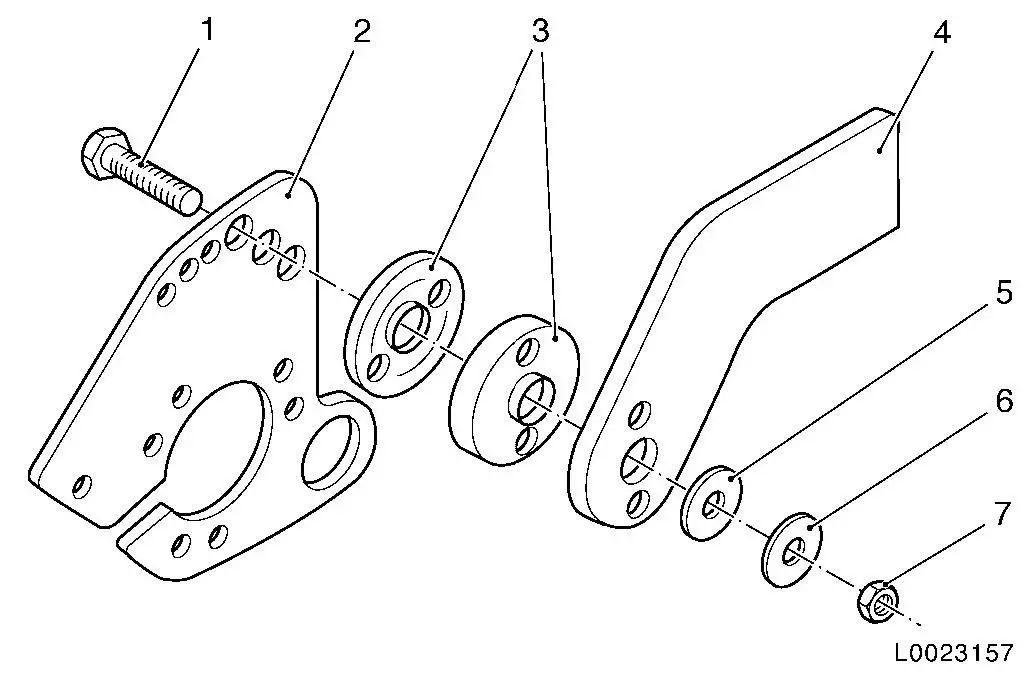 trailer hitch wiring harness bracket
