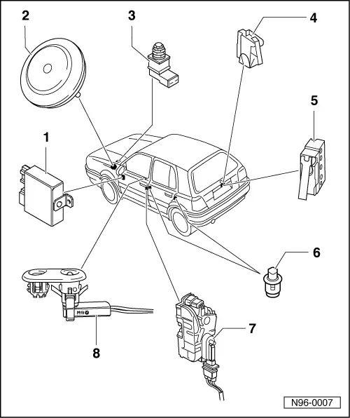 volkswagen light diagram