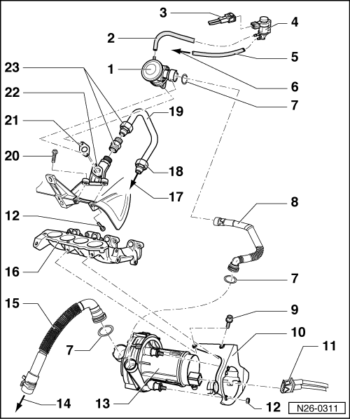 2000 golf engine diagram