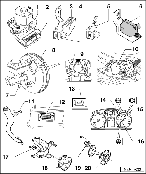 abs wheel speed sensor wiring in addition vw golf fuse box diagram
