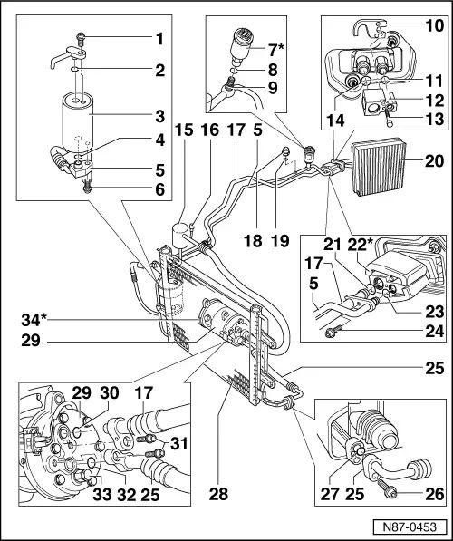 wiring diagram volkswagen golf iv