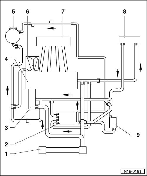 1 cylinder engine diagram