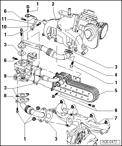 volkswagen tdi egr valve