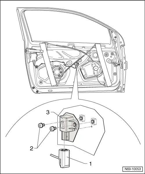 vw golf mk5 door wiring diagram