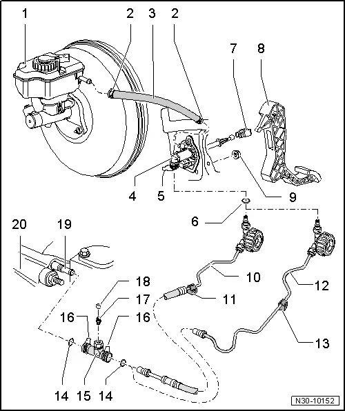 volkswagen clutch diagram