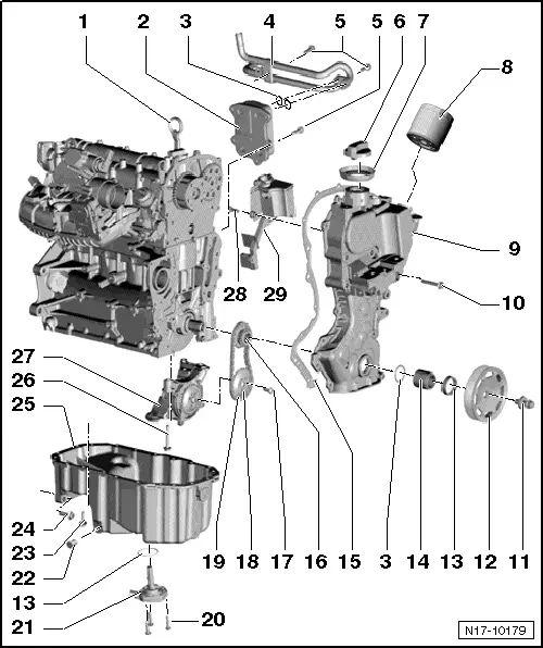 vw 1.4 tsi engine diagram