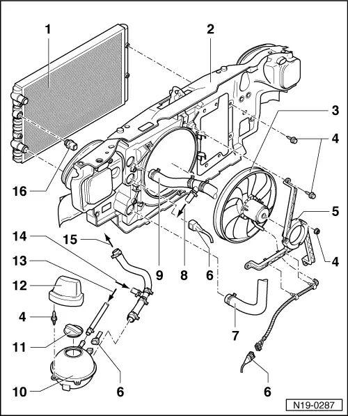 vw polo 1.6 engine diagram