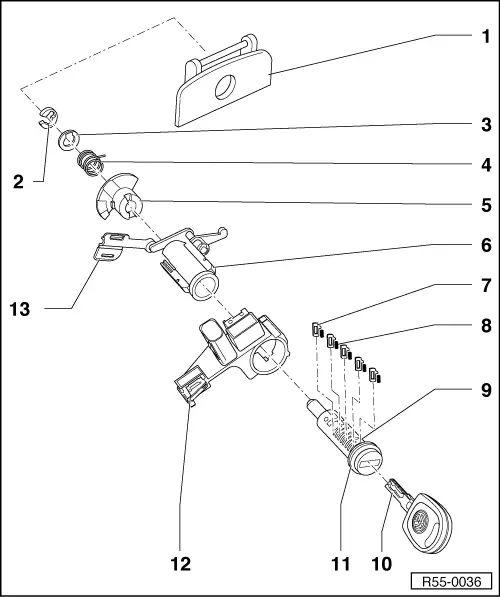 vw polo door lock wiring diagram