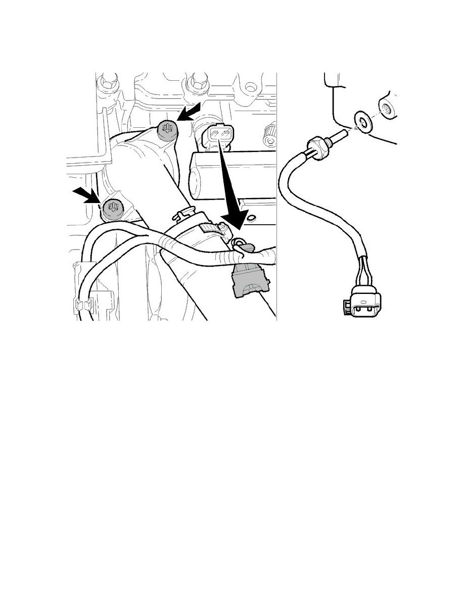 coolant temperature sensor switch for computer service and repair