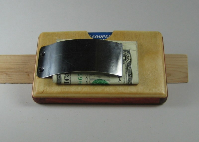 My finished wallet