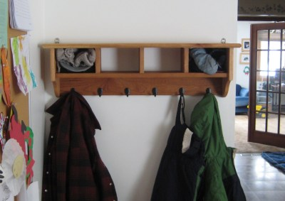 Finished Coat Rack