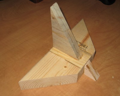 Isaac's Wooden Imperial Shuttle