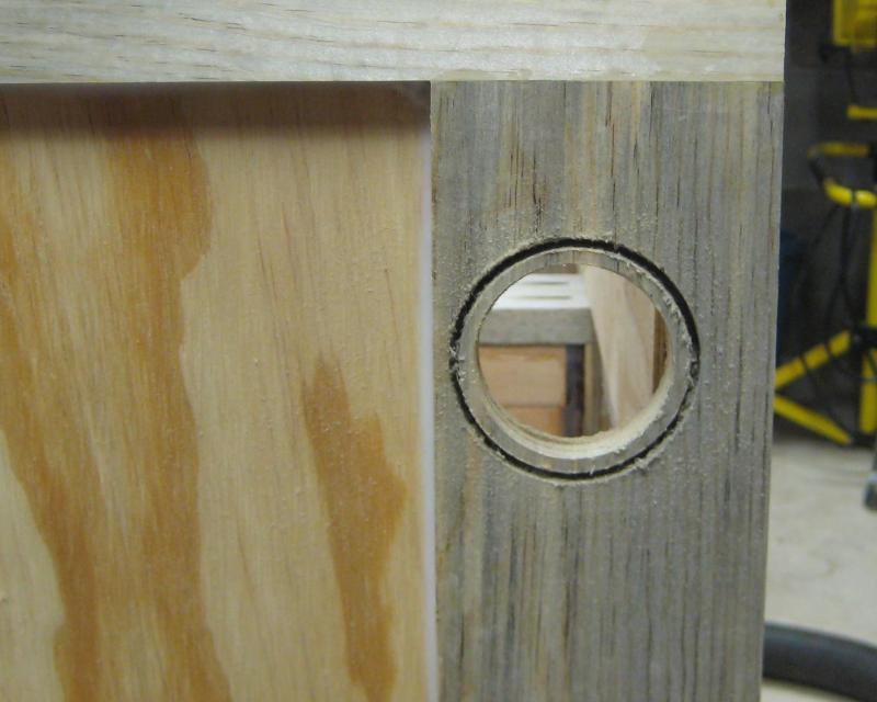 7) Drilling stepped hole