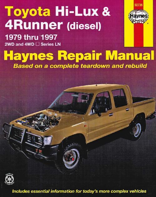 toyota 4runner online repair manual
