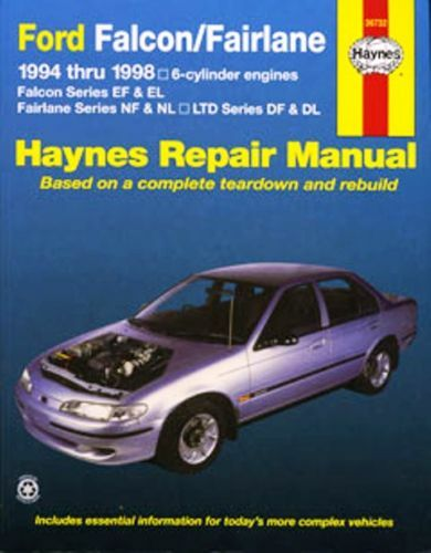 Ford Falcon Fairlane EF EL repair manual 1994-1998 NEW - sagin
