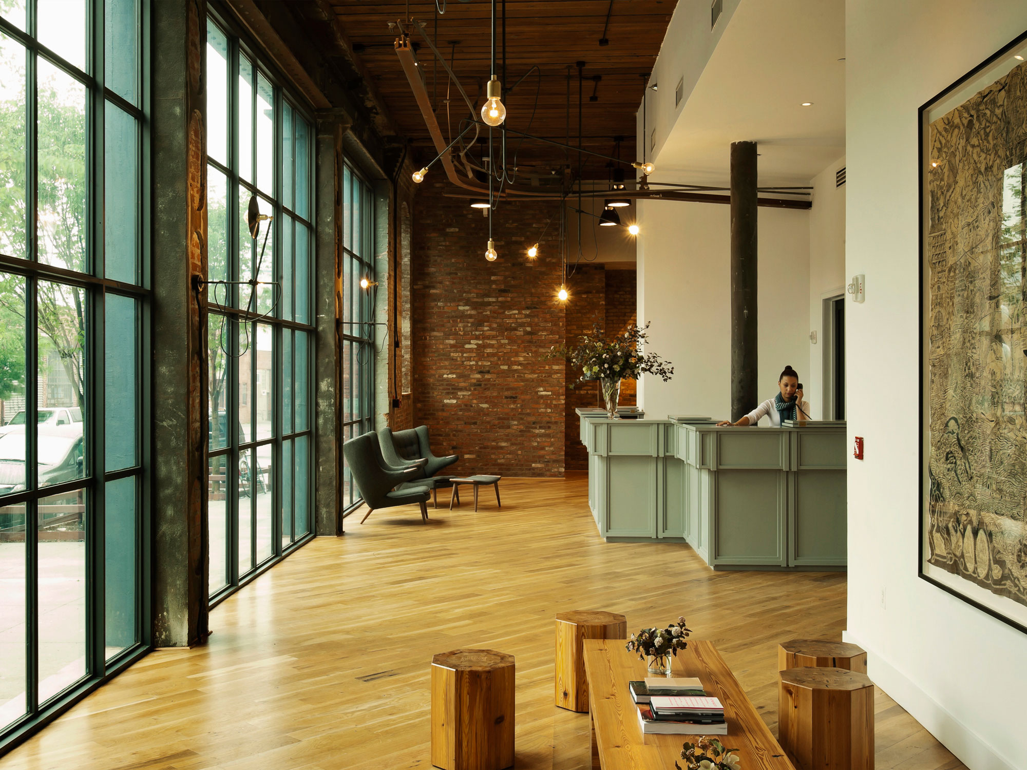 Hotel Design Ny The Wythe Hotel Brooklyn Ny Hotel Design