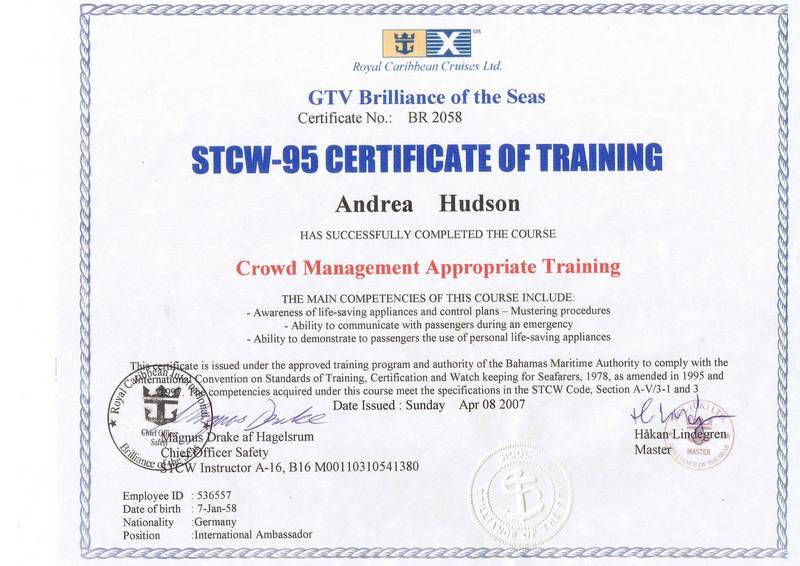 cv certificate