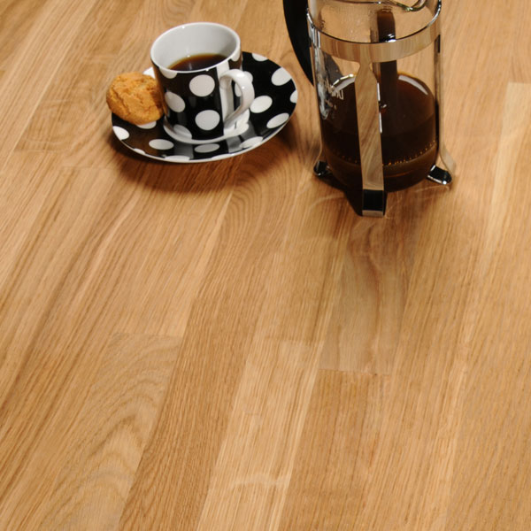 Küche 3m Oak 3m X 620 X 27mm Wooden Worktop - Worktop Express