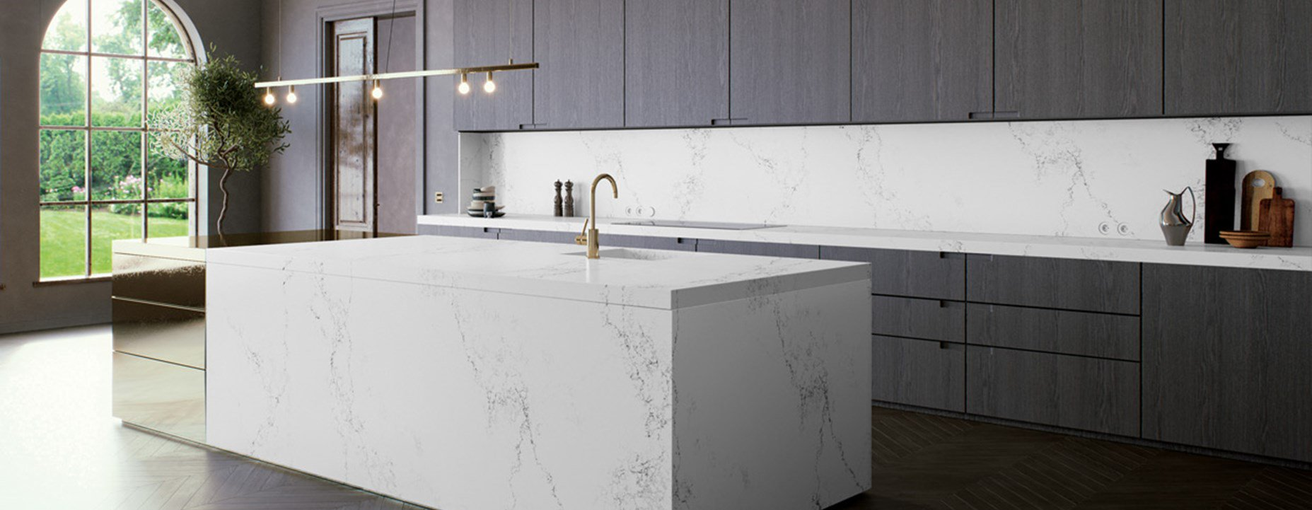 Caesarstone Empira White Quartz Worktops Net