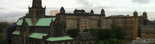 Glasgow Cathedral view