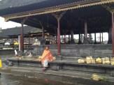 Bali Besakih Temples Lady