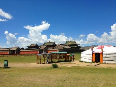 Erdene Zuu Monastery Ger