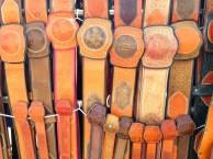 Mongolian wrestling belts.