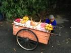 Fruit vendor outside