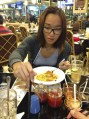 Taste testing the Indonesian cuisine