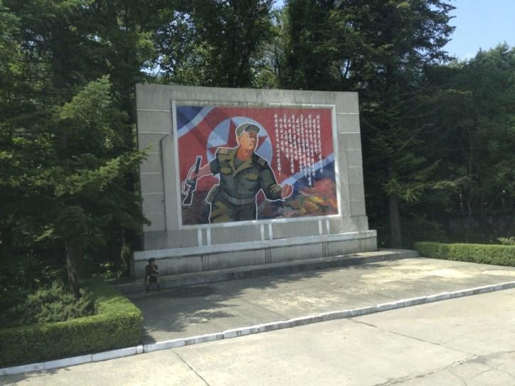 North Korea Mural