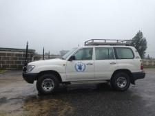 World Food Programme SUV