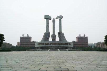 Pretty cool communist statue.