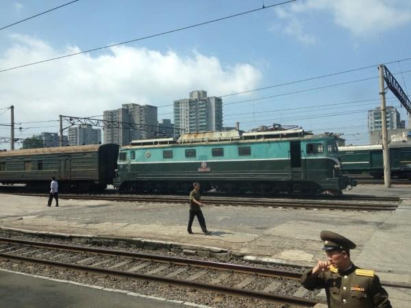 Pyongyang Station Trains
