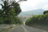 Bandung at the bottom of the mountain