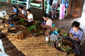 Inle Lake Cigar Factory Workers