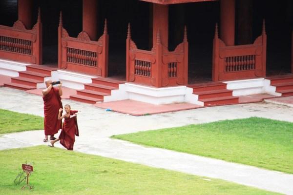 Rambunctious monk