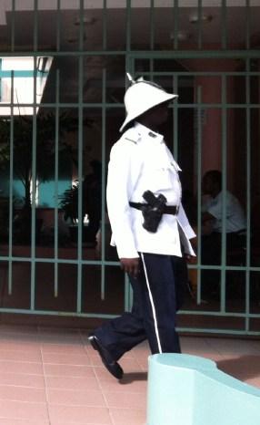 St Kitts Basseterre Gov Guard