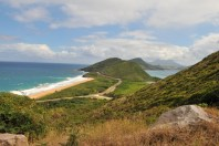 St Kitts Drive View over Nevis