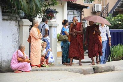 Yangon Monks