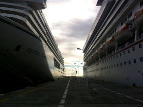 St Martin Ships at Port