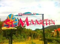 St Martin Sign