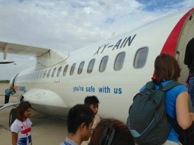Yangon Airways Plane